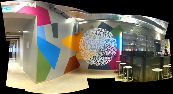 mural for clinknoord amsterdam